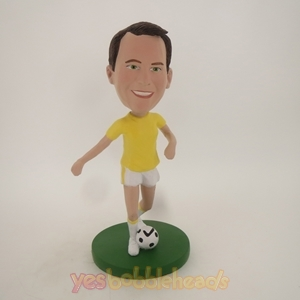 Picture of Custom Bobblehead Doll: Man Soccer Player