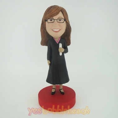 Picture of Custom Bobblehead Doll: Female Minister