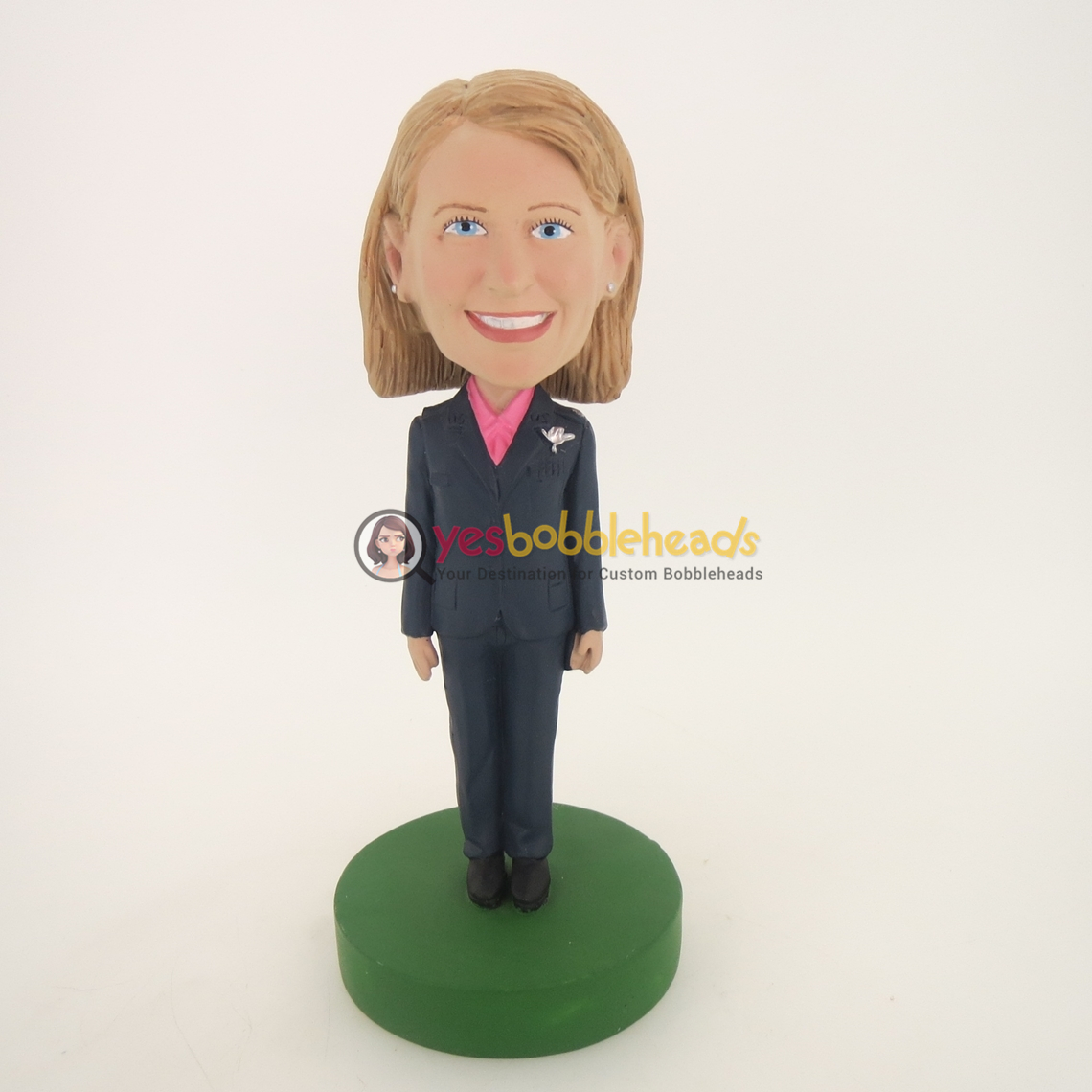 Picture of Custom Bobblehead Doll: Female Officer