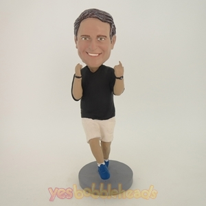 Picture of Custom Bobblehead Doll: Man Victory Posture