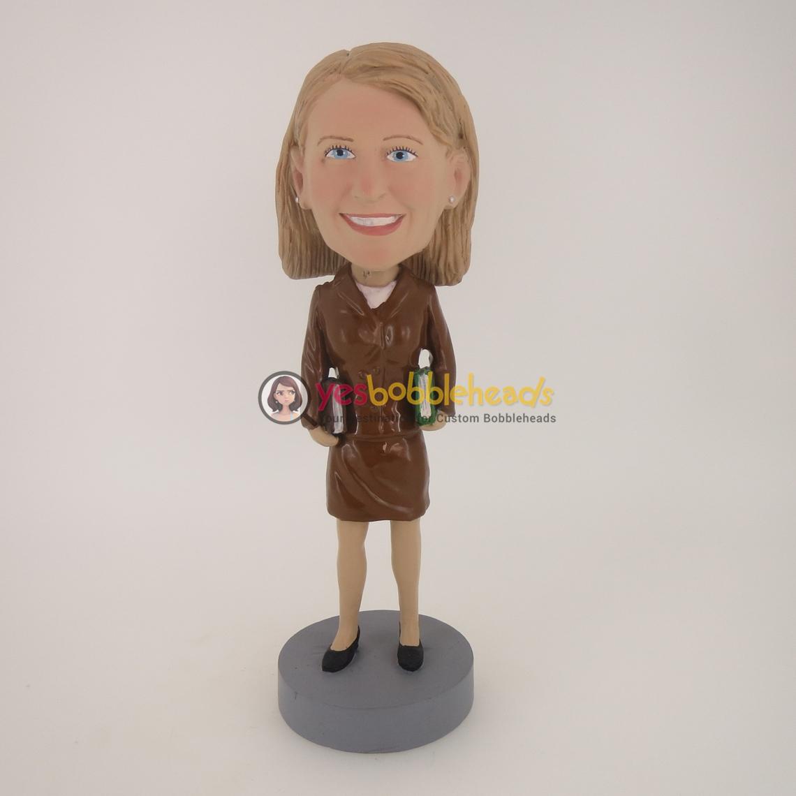 Picture of Custom Bobblehead Doll: Female Teacher