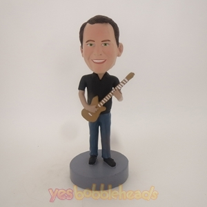 Picture of Custom Bobblehead Doll: Man With Guitar