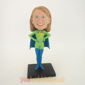 Picture of Custom Bobblehead Doll: Flash Woman