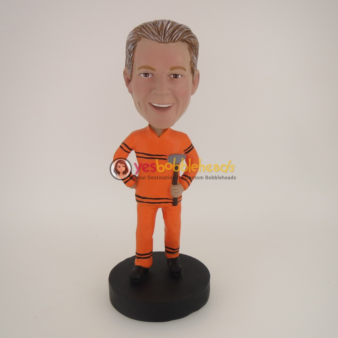 Picture of Custom Bobblehead Doll: Man With Hammer