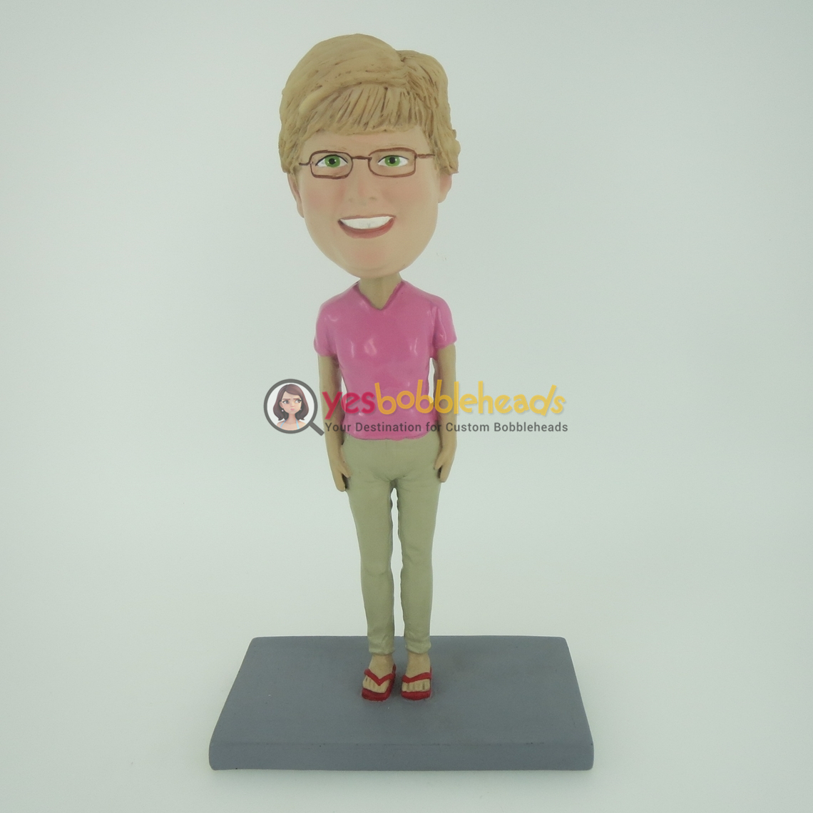 Picture of Custom Bobblehead Doll: Glass Girl