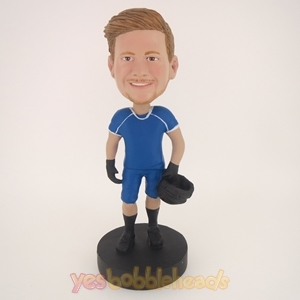 Picture of Custom Bobblehead Doll: Man With Motorcycle Hat