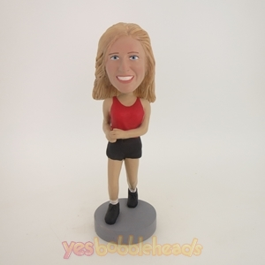 Picture of Custom Bobblehead Doll: Jogging Girl