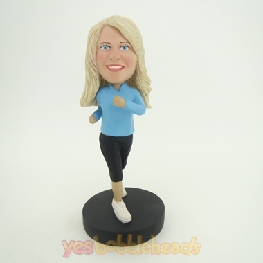 Picture of Custom Bobblehead Doll: Jogging Woman
