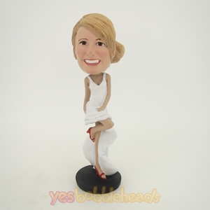 Picture of Custom Bobblehead Doll: Longuette Woman