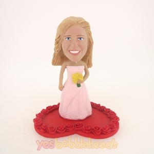 Picture of Custom Bobblehead Doll: Rose Wedding Woman