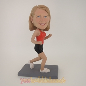 Picture of Custom Bobblehead Doll: Running Woman