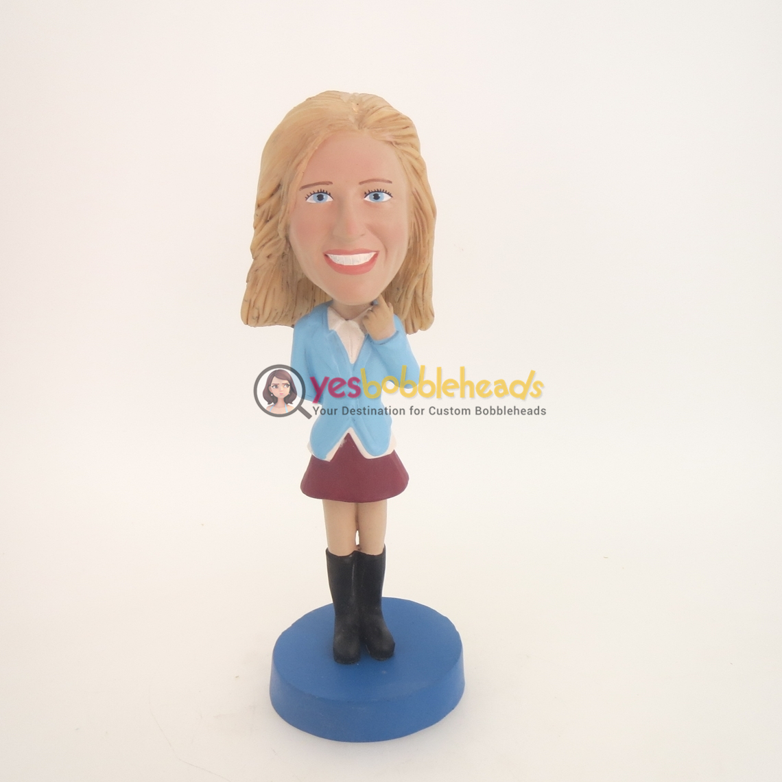 Picture of Custom Bobblehead Doll: School Girl