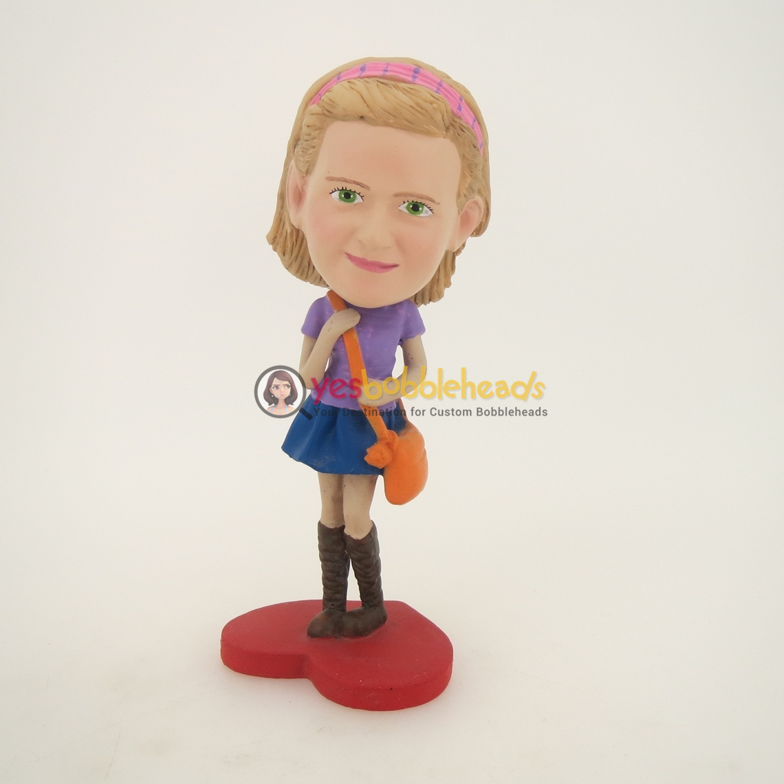 Picture of Custom Bobblehead Doll: Schoolgirl