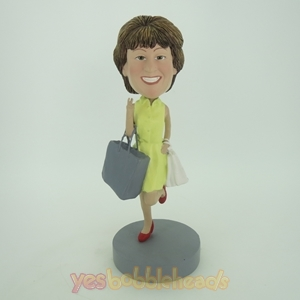 Picture of Custom Bobblehead Doll: Shopping Mother