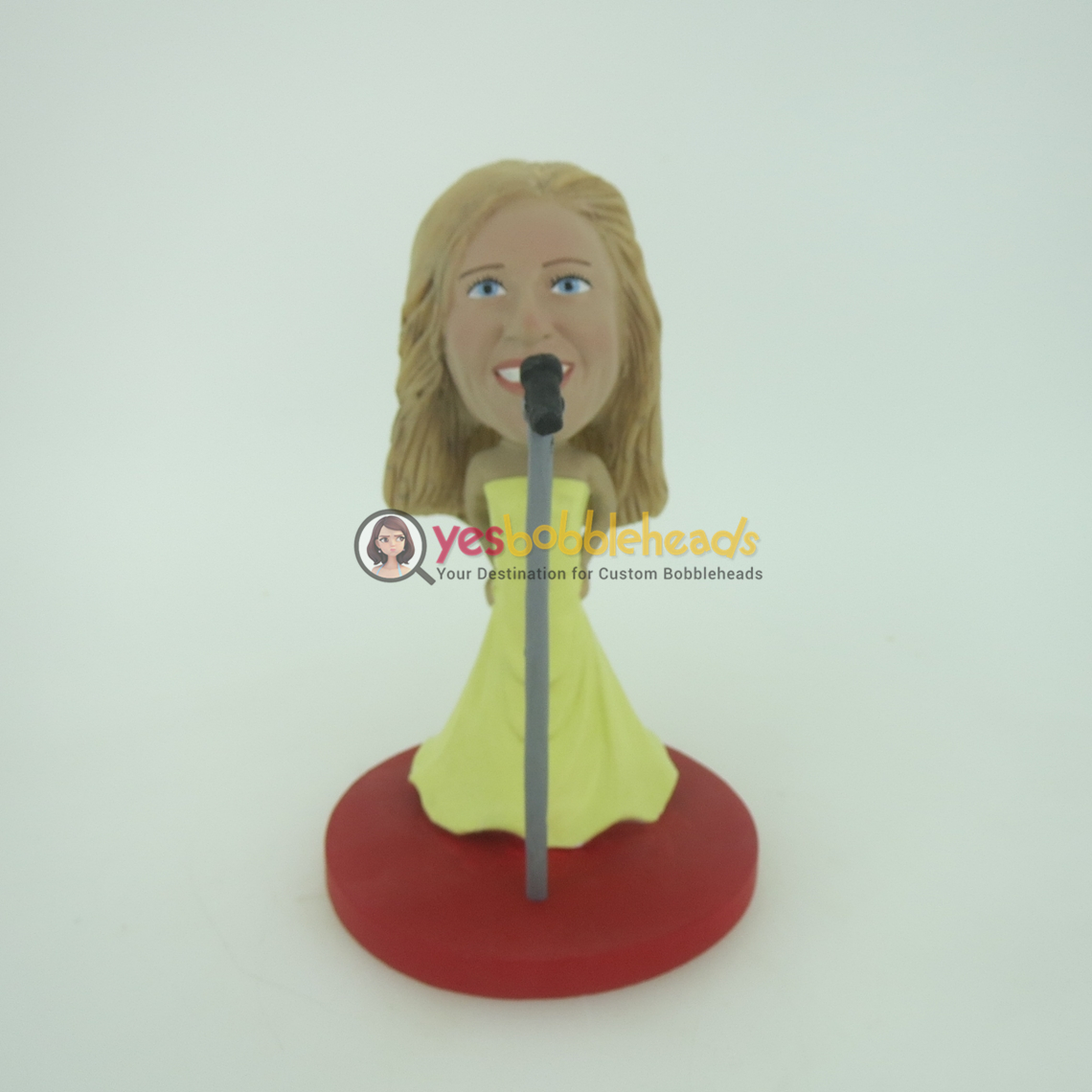 Picture of Custom Bobblehead Doll: Singing Woman