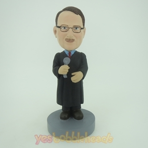 Picture of Custom Bobblehead Doll: Professional Speech Man