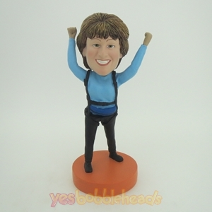Picture of Custom Bobblehead Doll: Sky Diving Woman