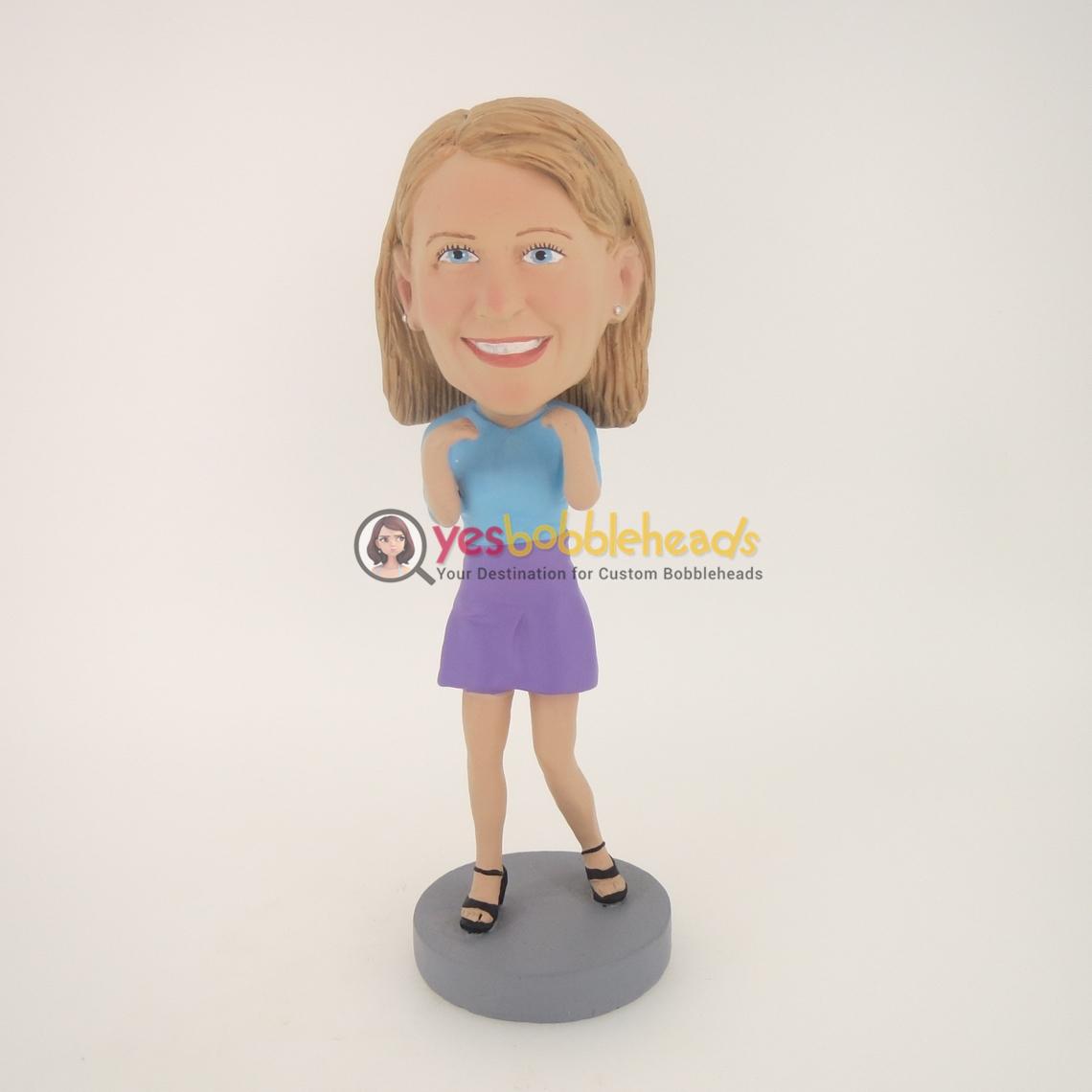 Picture of Custom Bobblehead Doll: Smile Girl