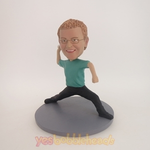 Picture of Custom Bobblehead Doll: Right-Handed Baseball Man