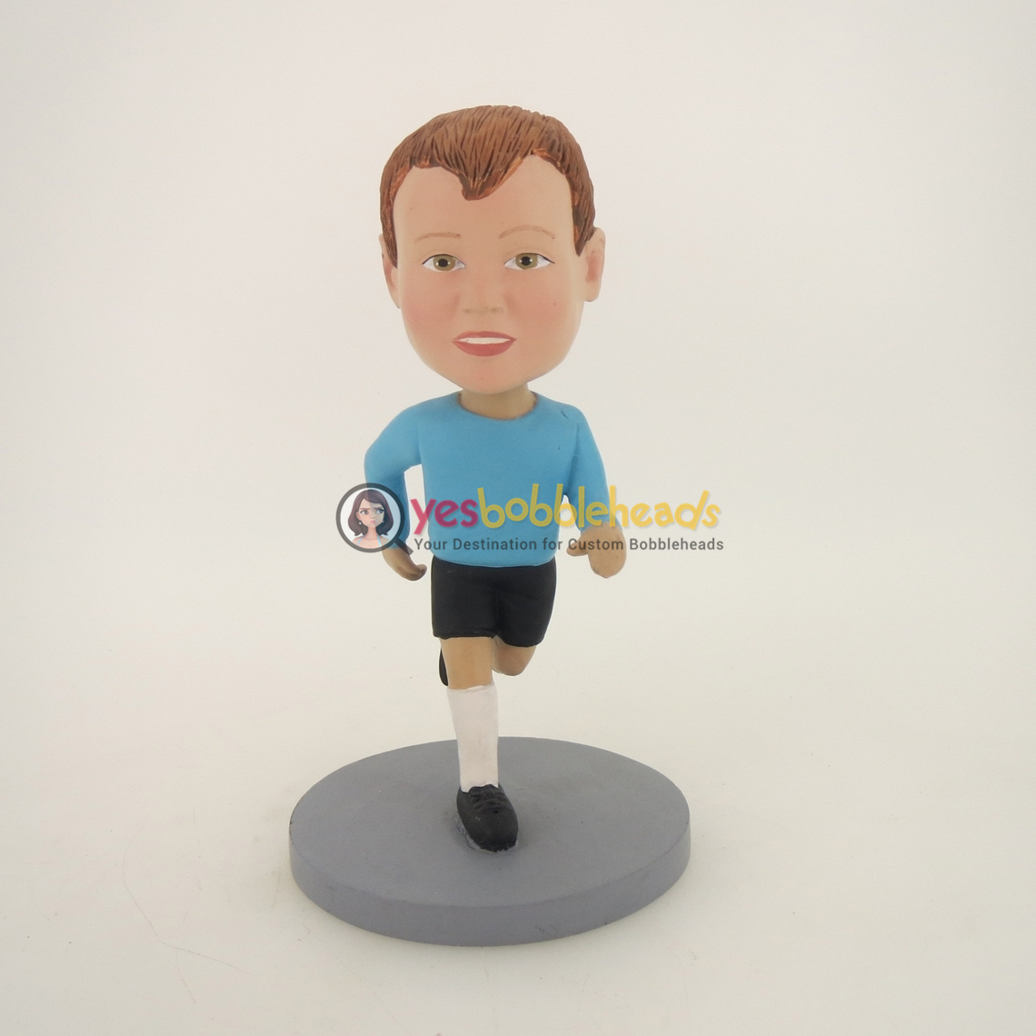 Picture of Custom Bobblehead Doll: Running Boy