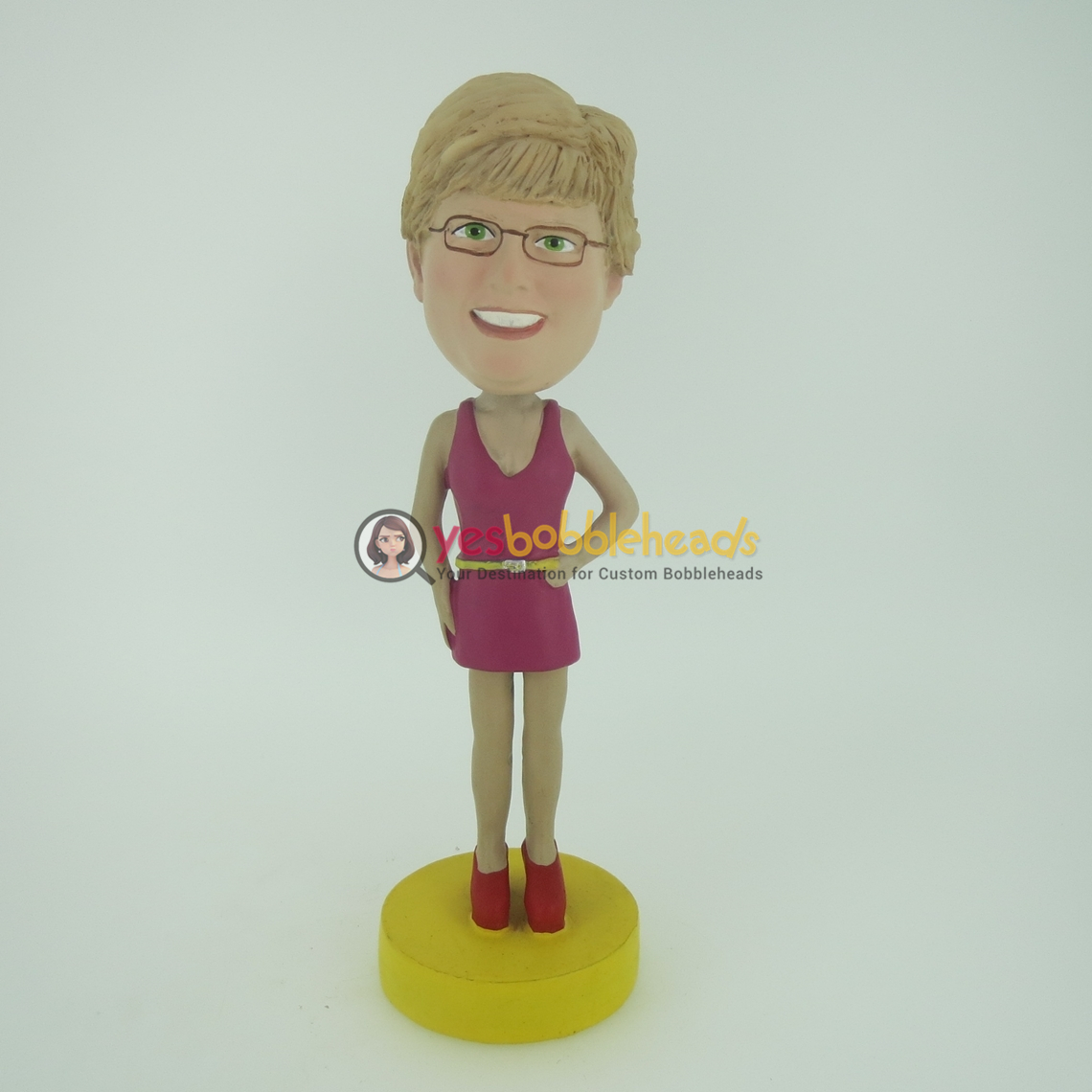 Picture of Custom Bobblehead Doll: Vest Woman