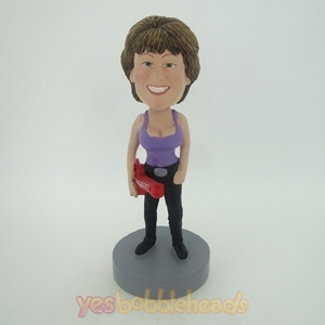 Picture of Custom Bobblehead Doll: Violin Woman