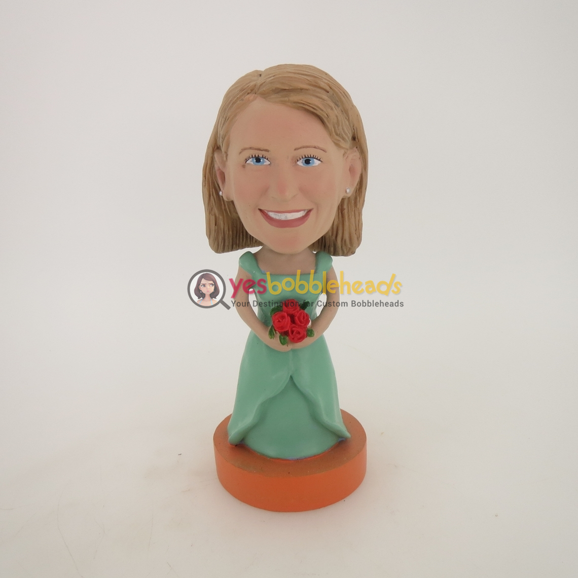 Picture of Custom Bobblehead Doll: Wedding Woman
