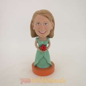 Picture of Custom Bobblehead Doll: Wedding Woman