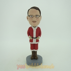 Picture of Custom Bobblehead Doll: Santa Uniform Man