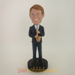 Picture of Custom Bobblehead Doll: Saxaphone Player Male