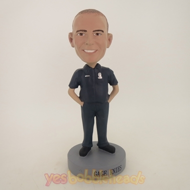 Picture of Custom Bobblehead Doll: Security Guard Male