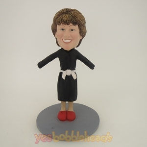 Picture of Custom Bobblehead Doll: Woman After Shower