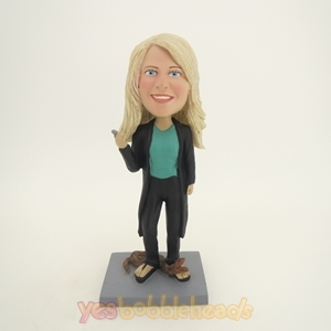 Picture of Custom Bobblehead Doll: Woman and Snake