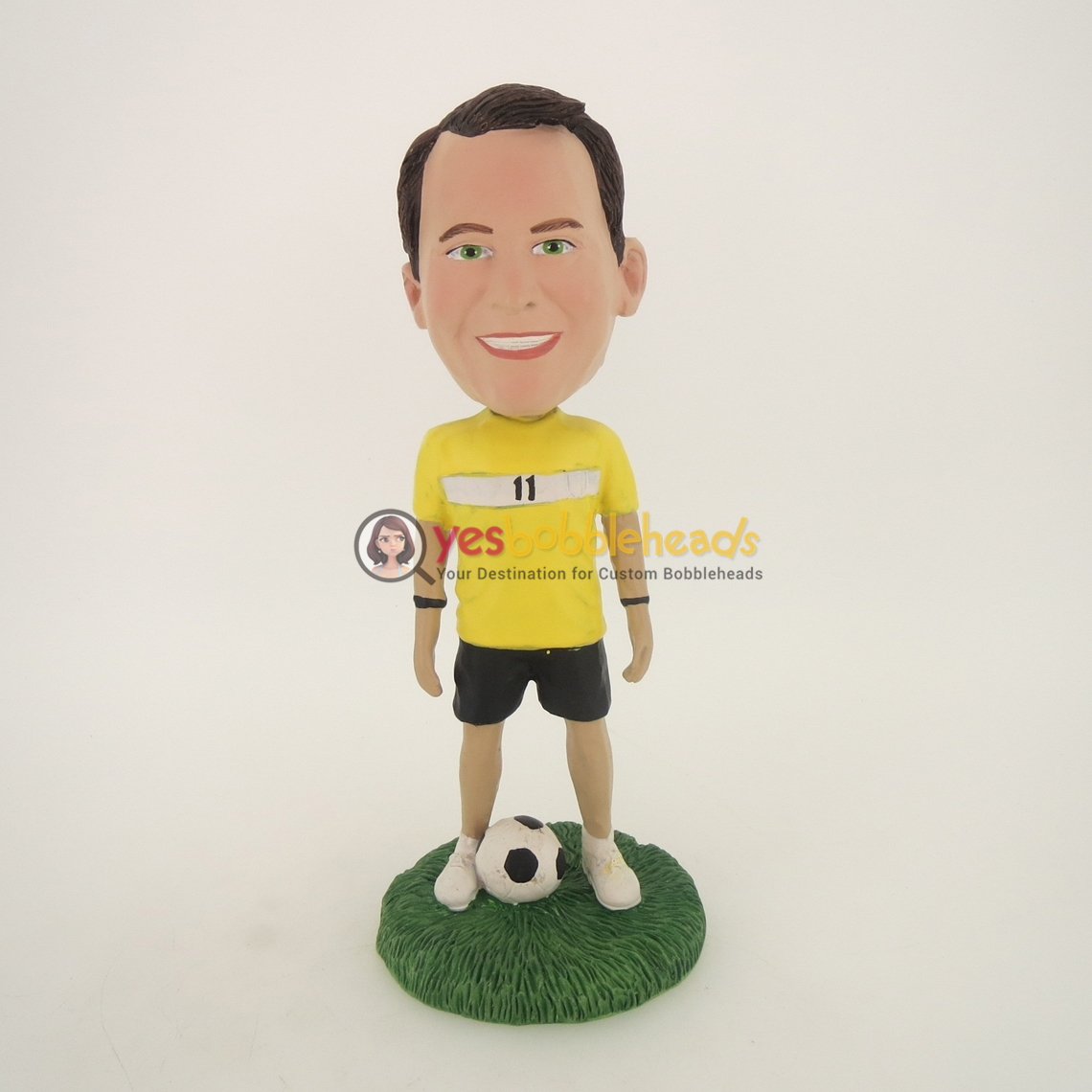 Picture of Custom Bobblehead Doll: Soccer Player