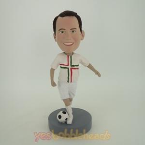 Picture of Custom Bobblehead Doll: Soccer Uniform Player