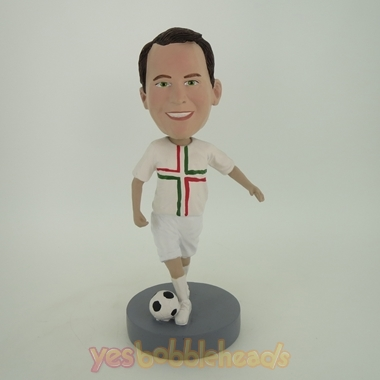 Picture of Custom Bobblehead Doll: Soccer Uniform Player