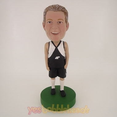 Picture of Custom Bobblehead Doll: Standing Soccer Player
