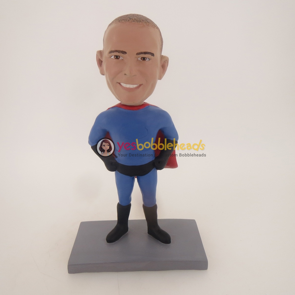 Picture of Custom Bobblehead Doll: Superman Customized