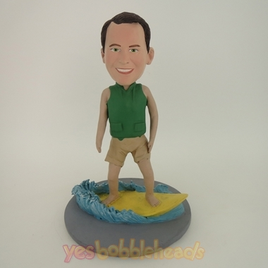 Picture of Custom Bobblehead Doll: Surfer On A Wave
