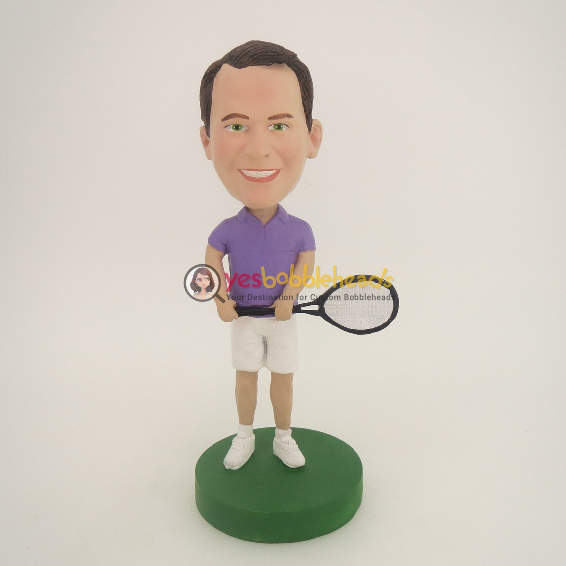Picture of Custom Bobblehead Doll: Tennis Man