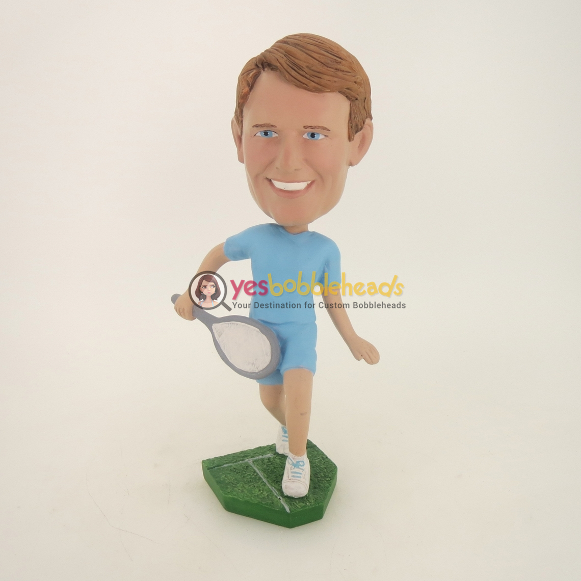 Picture of Custom Bobblehead Doll: Tennis Player