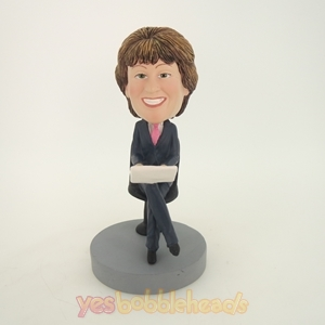 Picture of Custom Bobblehead Doll: Working Woman