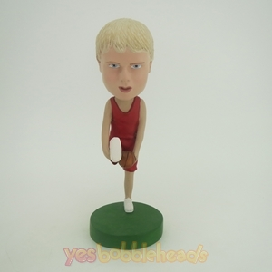 Picture of Custom Bobblehead Doll: Trick Basketball Player Man
