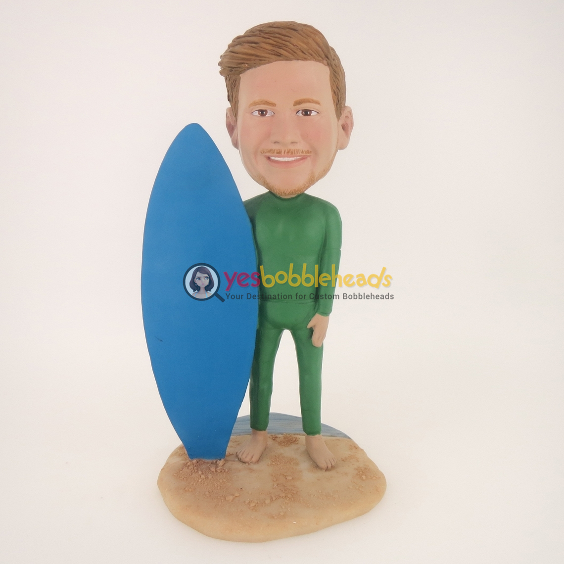Picture of Custom Bobblehead Doll: Wet Suit Surfer