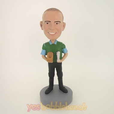 Picture of Custom Bobblehead Doll: Winning Man