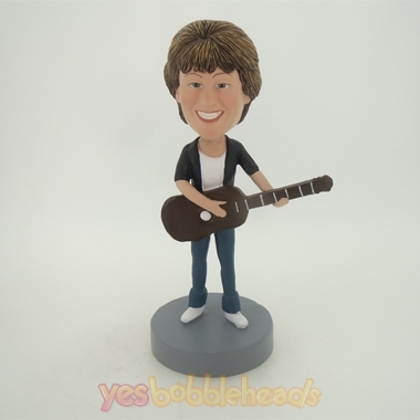 Picture of Custom Bobblehead Doll: Guitar Woman