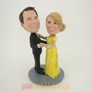 Picture of Custom Bobblehead Doll: Dancing Couple