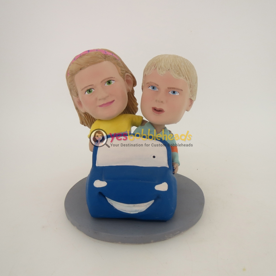 Picture of Custom Bobblehead Doll: Driving Couple