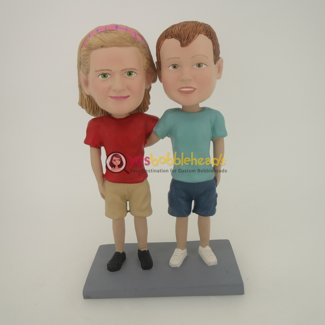 Picture of Custom Bobblehead Doll: Friends Couple