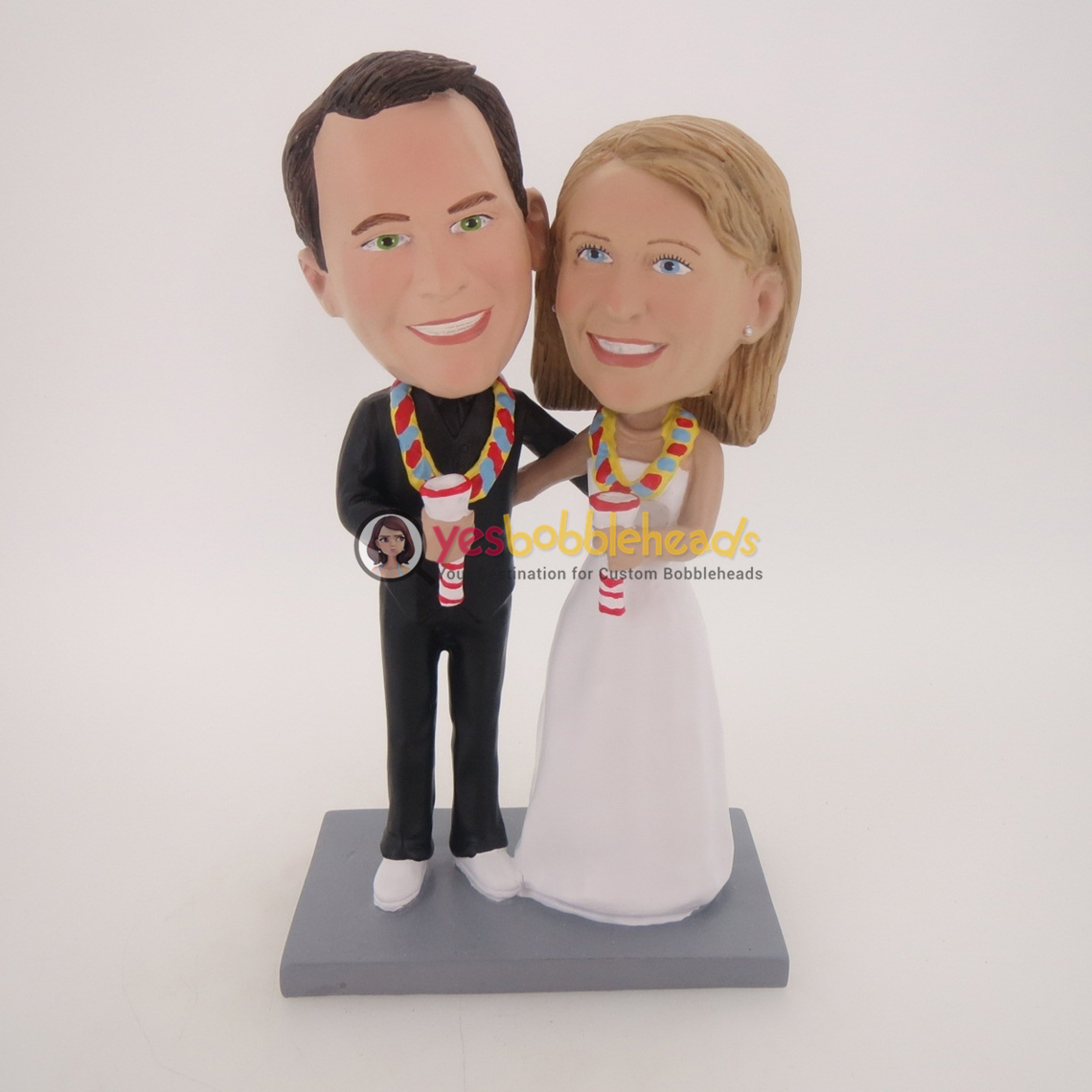 Picture of Custom Bobblehead Doll: Singing Fun Couple